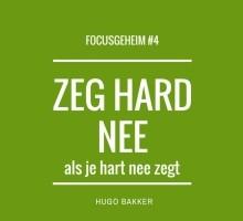 Nee zeggen - Hugo Bakker