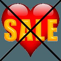 Geen korting Valentijnsdag (1)